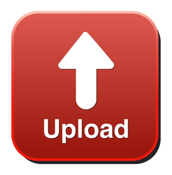 Upload Button, Upload icon and button